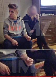 Justin Bieber (TMZ Exclusive Photo)