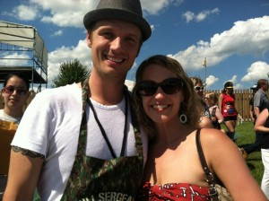 Nick Carter And Lindsay Clizbe