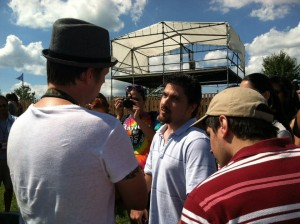 Nick Carter Catching Up With Matt Clizbe And Craig Clizbe