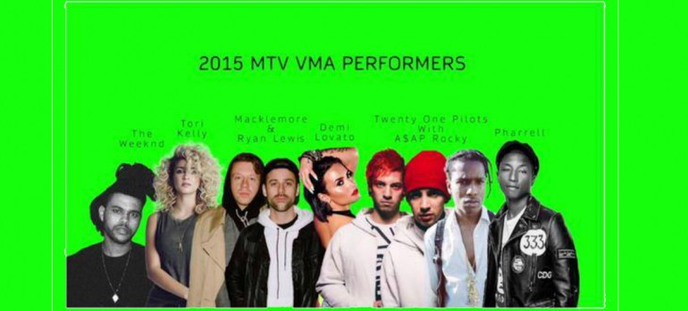 2015 MTV VMA Performers
