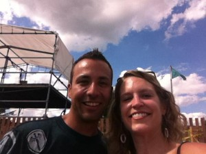 Howie Dorough With Lindsay Clizbe