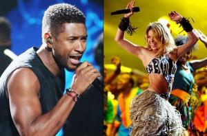 Usher & Shakira