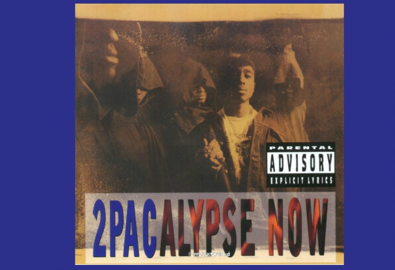 "2pac ""2pacalypse Now"" Interscope Records"
