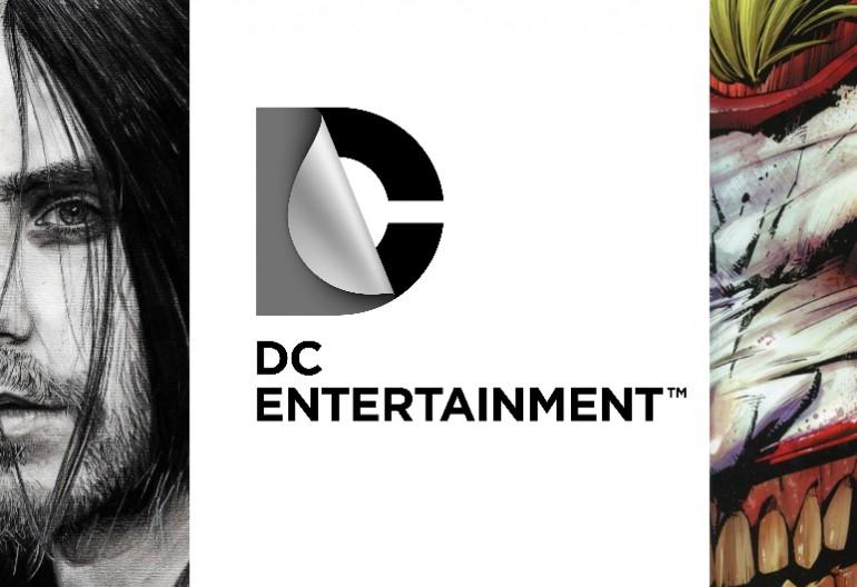 Jared Leto/DC EntertainmentLogo/The Joker