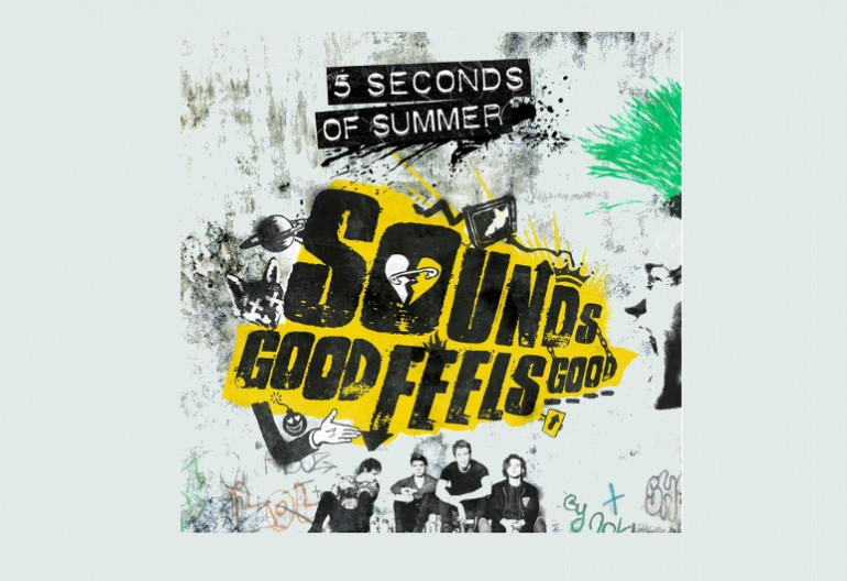 "5 Seconds Of Summer ""Sounds Good Feels Good"" Hi Or Hey/Capitol Records"