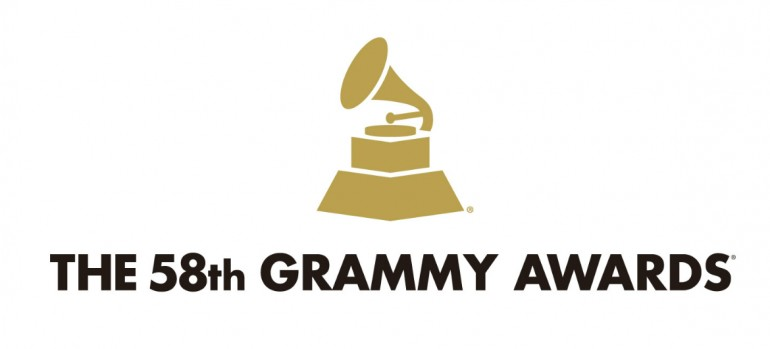 %8th Annual Grammy Awards Logo