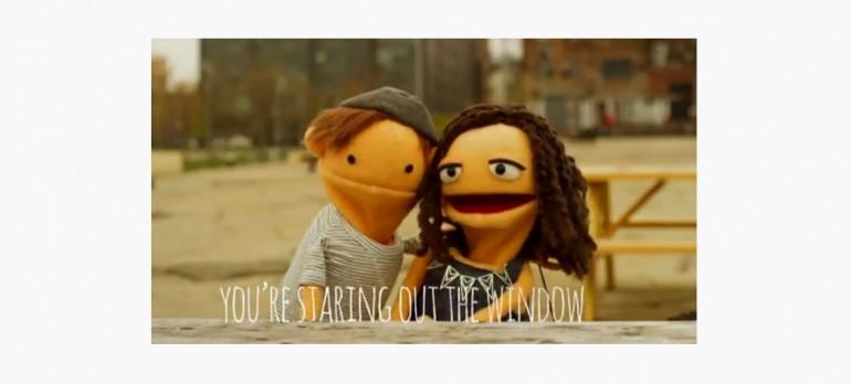"image from alex & sierra's ""Scarecrow"" lyric video,"
