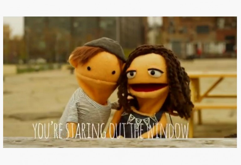 "image from alex & sierra's ""Scarecrow"" lyric video,"
