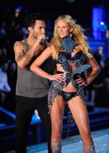 Maroon 5's Adam Levine With Girlfriend Victoria Secret Model Anne Vyalitsina