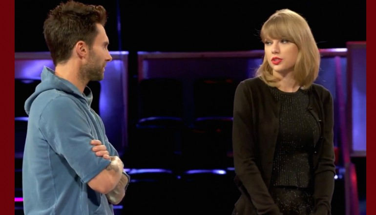 "Adam Levine & Taylor Swift On ""The Voice"""