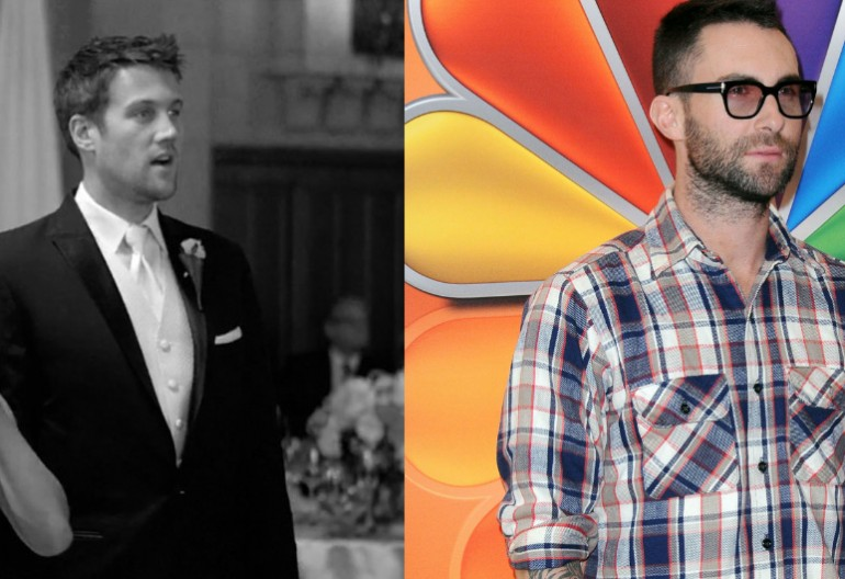 "Image from: Maroon 5's ""Sugar"" Music Video/NBC Press Shot Of Adam Levine"