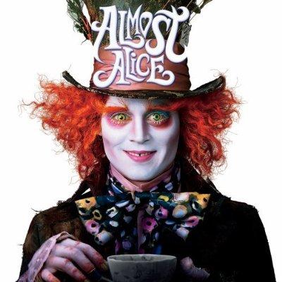 """Almost Alice"" Album-Soundtrack to Disney's Alice In Wonderland 2010"
