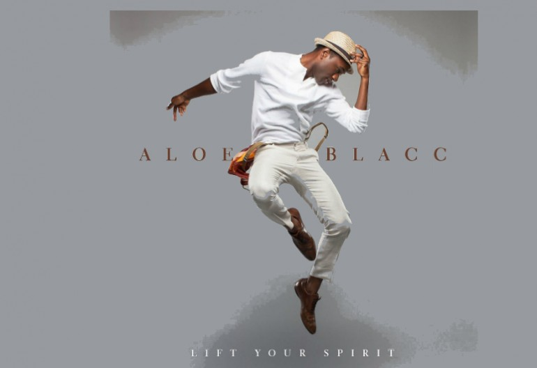 "Aloe Blacc ""Lift Your Spirit"" Interscope Records"