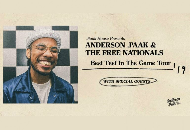 Anderson Pak Best Teef In The Game Tour