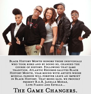 Atlantic Records Celebrates Black History Month 2011 for post