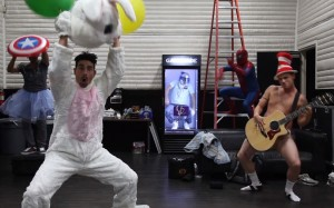 Backstreet Boys Doing The Harlem Shake