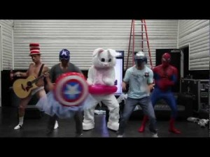 Backstreet Boys Doing The Harlem Shake