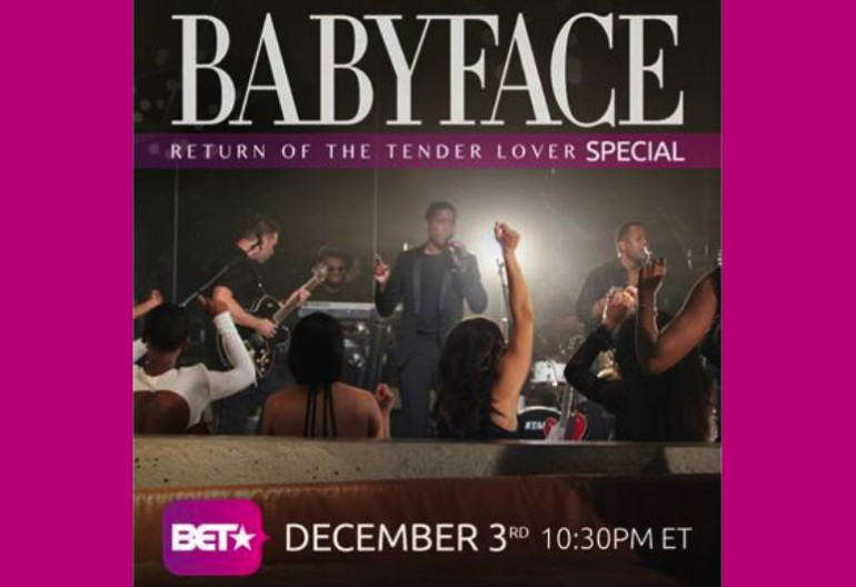 "Babyface ""Return Of The Tender Lover"" BET Special"
