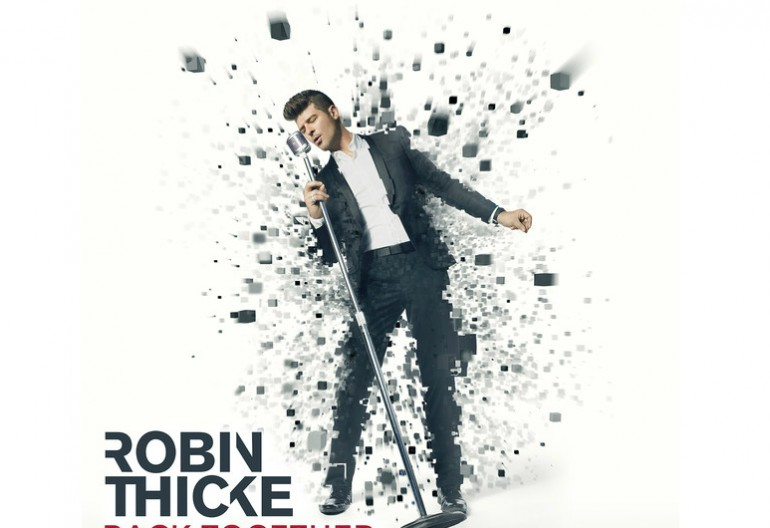"Robin Thicke F/ Nicki Minaj ""Back Together"" Star Trak/Interscope Records"