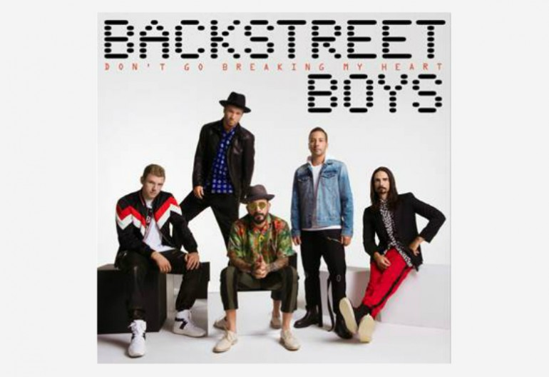 "Backstreet Boys ""Don't Go Breaking My Heart"" K-Bahan/RCA Records"
