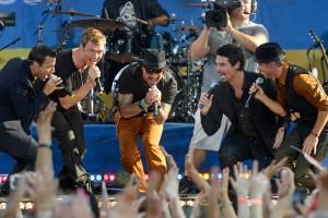 Backstreet Boys On ABC's Good Morning America On August 31st 2012
