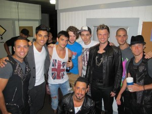 Backstreet Boys And The Wanted At The 2012 Mixtape Festival