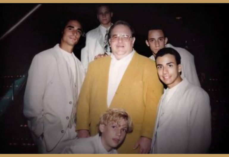 Backstreet Boys And Lou Pearlman