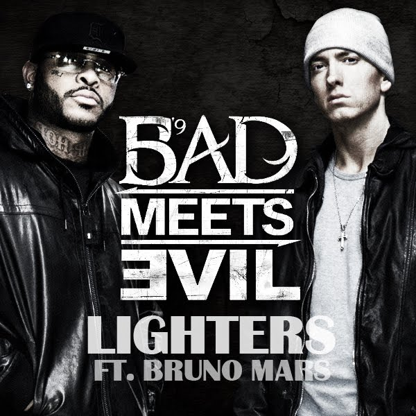 "Bad Meets Evil Featuring Bruno Mars ""Lighters"" Shady/Interscope Records"