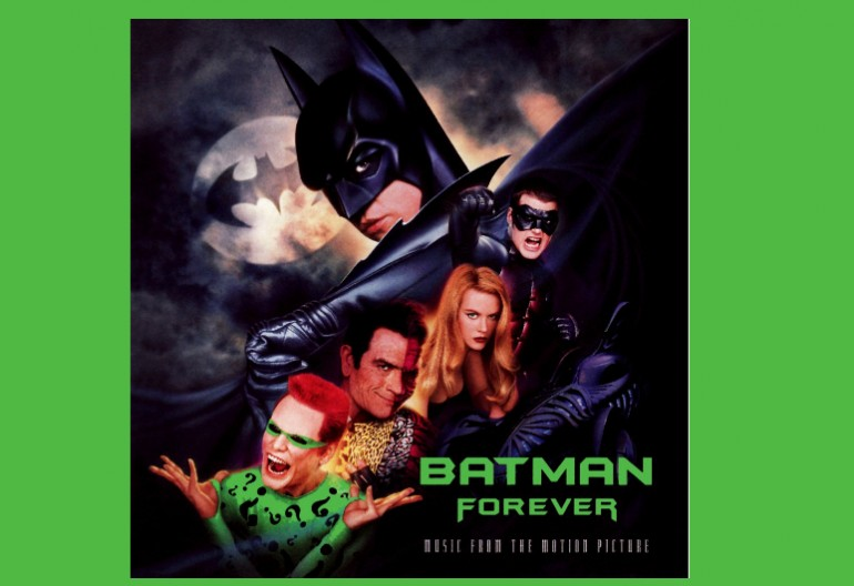 Batman Forever Soundtrack Atlantic Records