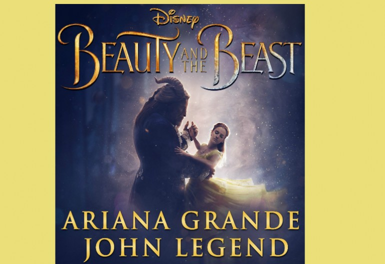 "Ariana Grande And John Legend ""Beauty And The Beast"" Walt Disney Records"