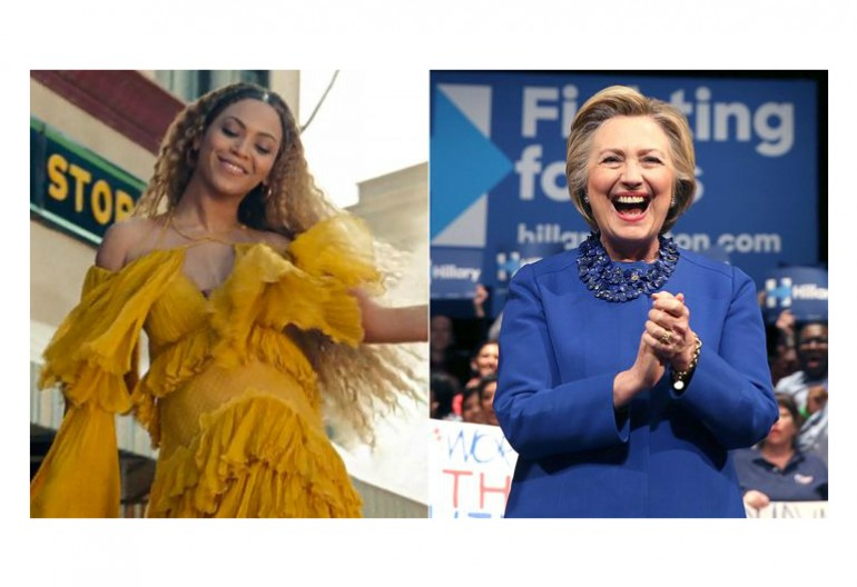 Beyonce/Hillary Clinton