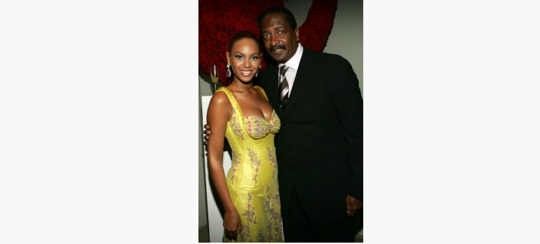 Beyonce & Matthew Knowles Frank Micelotta /Buzz Feed