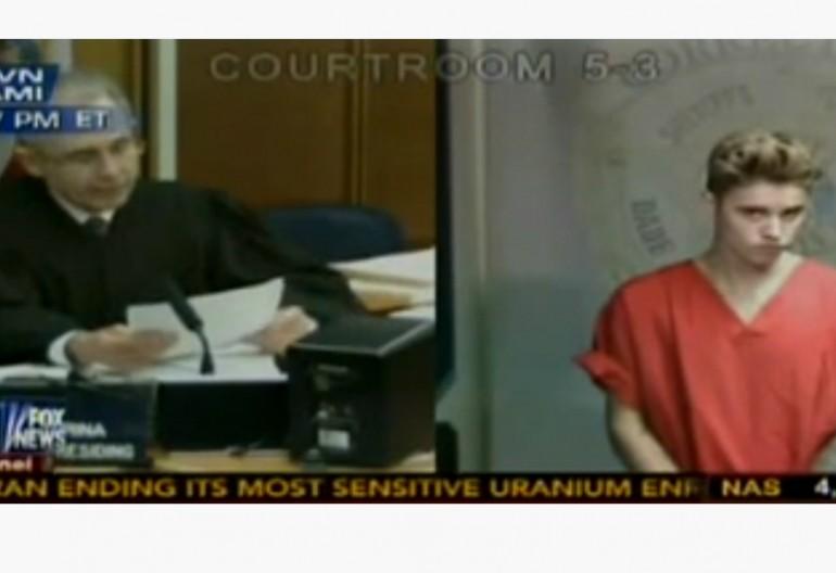 Judge Sets Justin Bieber's Bail Live On Fox News