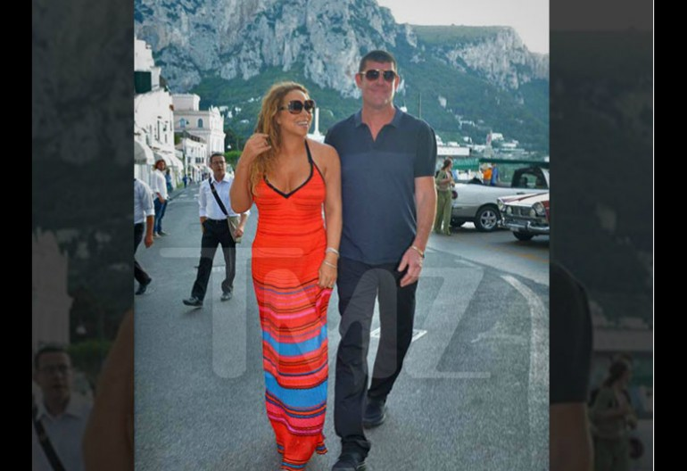Mariah Carey With Billionaire James Packer via TMZ