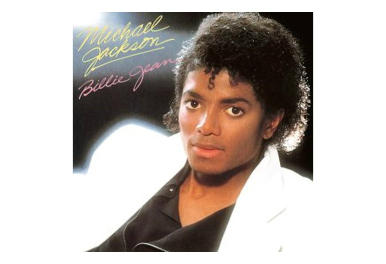 "Michael Jackson's ""Billie Jean"" Album Cover"