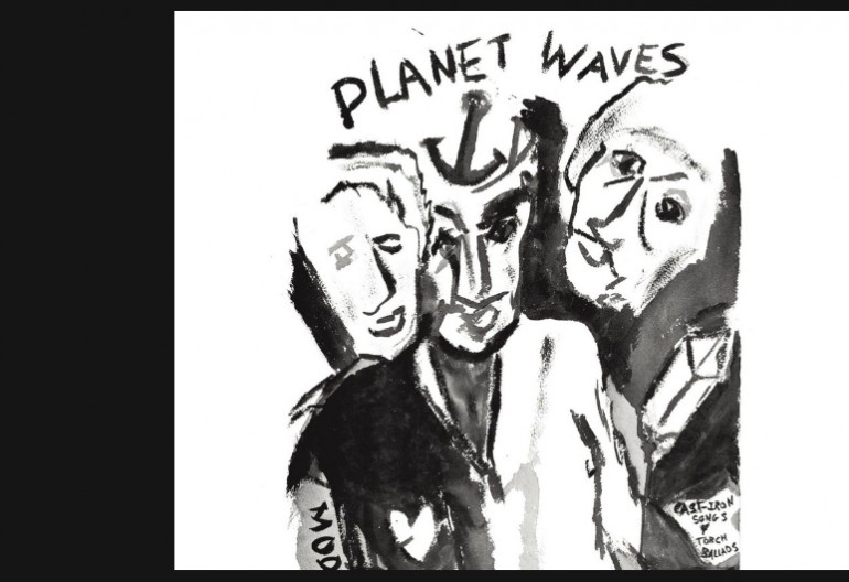 "Bob Dylan ""Planet Waves"" Asylum Records"
