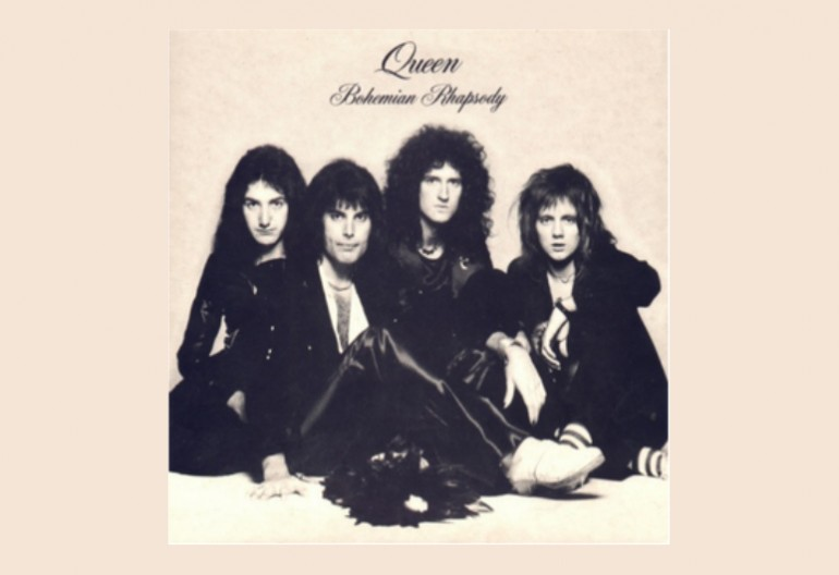 "Queen ""Bohemian Rhapsody"" Parlophone/EMI/Elektra Records"