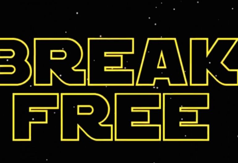 Video Still From Break Free lyric video