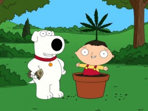 "Brian & Stewie Performing ""Bag Of Weed"""
