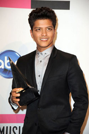 Bruno Mars At 2011 American Music Awards Dick Clark Productiosn/ABC Network
