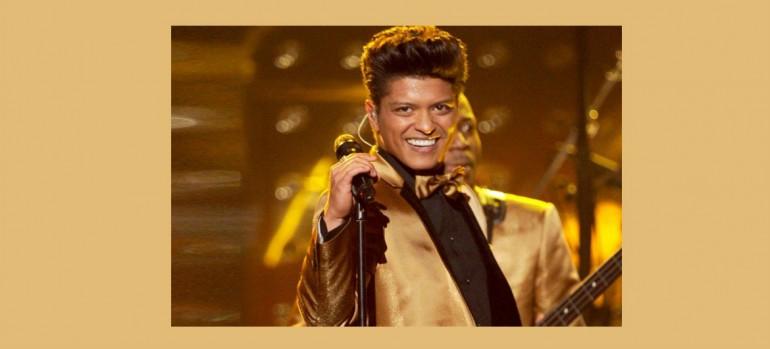 Bruno Mars Image via The Recording Academy PR
