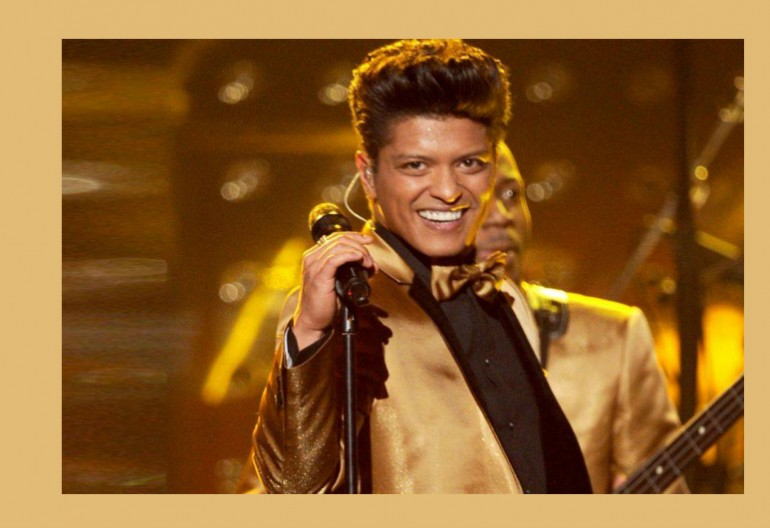 Bruno Mars Image via The Recording Academy PR