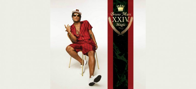 "Bruno Mars ""24K Magic"" Atlantic Records"