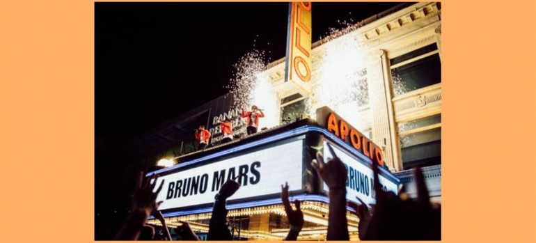 Bruno Mars 24K Magic At The Apollo
