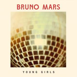 "Bruno Mars ""Young Girls"" Elektra/Atlantic Records"