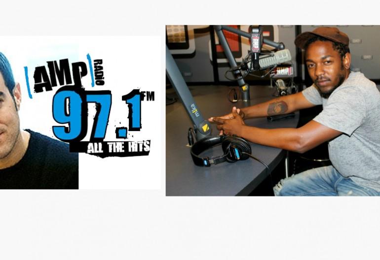 Carson Daly/Kendrick Lamar on 97.1 AMP Radio