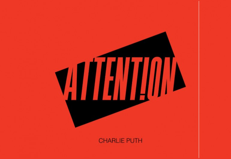 "Charlie Puth ""Attention"" APG/Atlantic Records"