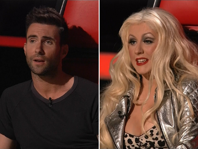 the voice christina aguilera 6 7 2011. the voice christina aguilera 6