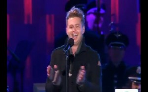 """Ryan Tedder Of Onerepublic Introducing """"Christmas Without You At The National Christmas Tree Lighting In Washington DC"""