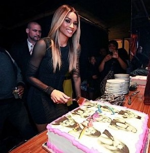 Ciara At Her 27th Birthday Party In New York City